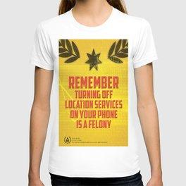 Dystopian propaganda III T-shirt