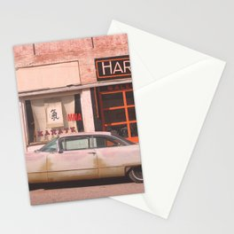 Vintage Car in Old Town No. 2 :: Lowell Arizona Stationery Cards
