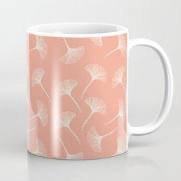 Pink Ginkgo Coffee Mug