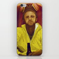 jesse pinkman iPhone & iPod Skins featuring Jesse Pinkman  by Inspired Engine