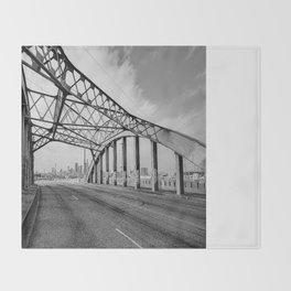 Sixth Street Viaduct Bridge - LA 02/30/2016 Throw Blanket