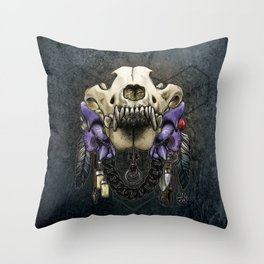Let Us Prey: The Wolf Throw Pillow