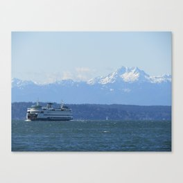 """""""Tacoma"""" Ferry and the Brothers Canvas Print"""