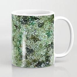 Raw Peridot Coffee Mug