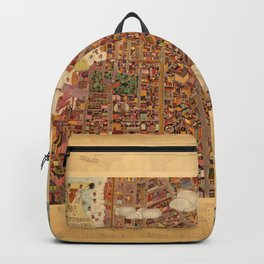 Map Of Greenwich Village 1920 Backpack
