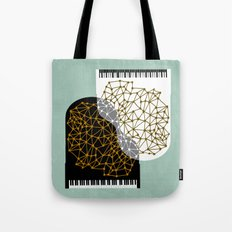 The Entertainers - Two Pianos Tote Bag