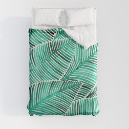 Tropical Turquoise Duvet Cover
