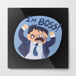 Boss Gifts Metal Print