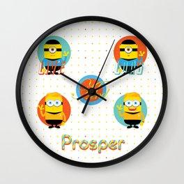 Minion!Star Trek Wall Clock