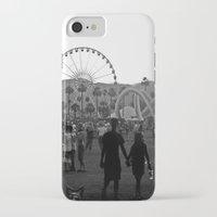 coachella iPhone & iPod Cases featuring Coachella Couple by Derek Delacroix