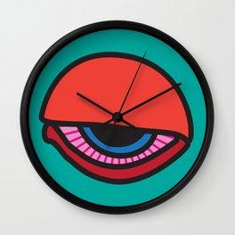 """""""All-nighter"""" Surviving Art School Badge Wall Clock"""