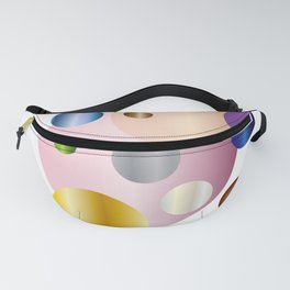planetarium abstract geometrical design Fanny Pack