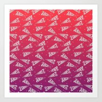 A Pennant for Angry Feminism Art Print