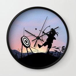 Hawkeye Kid Wall Clock