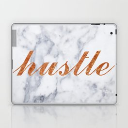 Hustle Marble Brass Copper Bronze Laptop & iPad Skin