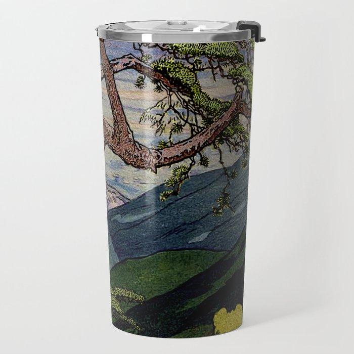 The Downwards Climbing Travel Mug