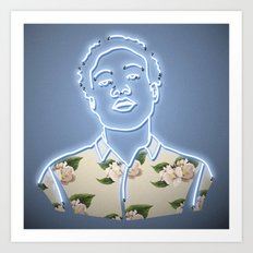 Childish Gambino - Neon Sign Art Print
