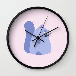 Gato Gordo Wall Clock