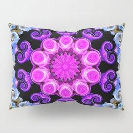 Colorful Oriental Mandala Pillow Sham