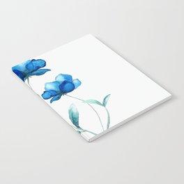 Blue Flowers 2 Notebook