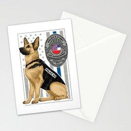 K9 Unit Flag MISSISSIPPI copy Stationery Cards