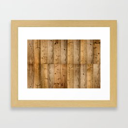 Wood 6 Framed Art Print
