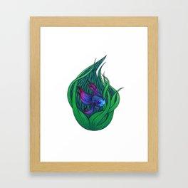Hide Your Light Framed Art Print