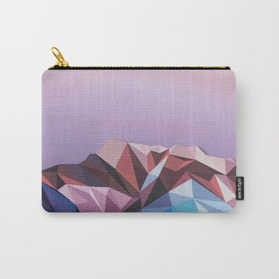 Night Mountains No. 41 Carry-All Pouch