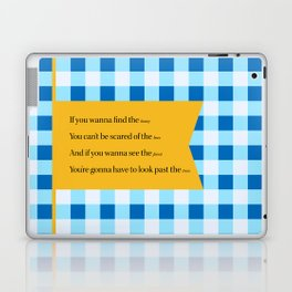 Silver Lining Laptop & iPad Skin