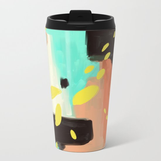 Wait For More Metal Travel Mug