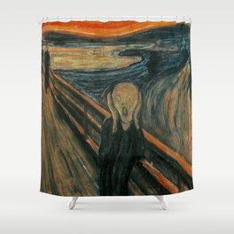 The Scream Shower Curtain