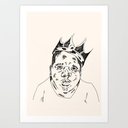 B.I.G. Art Print