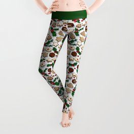 Christmas Treats and Cookies Leggings