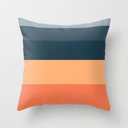 Sunrise Fade Throw Pillow