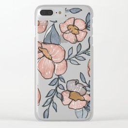 A Little Pink Clear iPhone Case