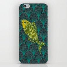 Swimming Upstream 3 iPhone & iPod Skin