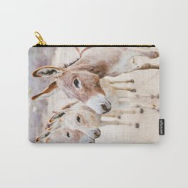 Three Donkeys in Baja, Mexico Carry-All Pouch