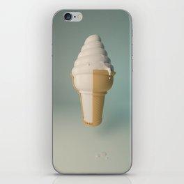 Ice Cream Drip iPhone Skin