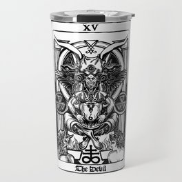 The Devil Tarot Travel Mug