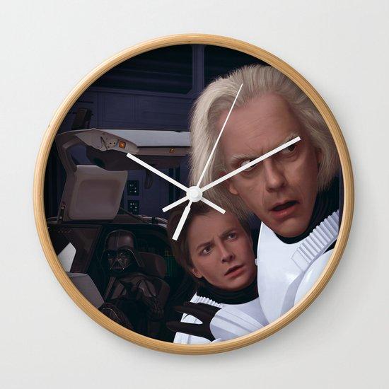 I Find Your Lack Of Jiggawatts Disturbing Wall Clock