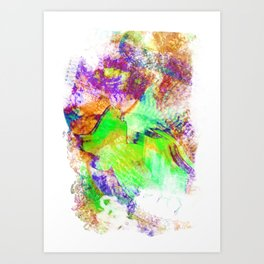 Vast2: Vapor Art Print