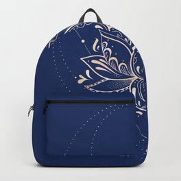 Lotus Dark Backpack