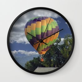 Balloon Landing Wall Clock
