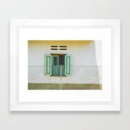 window and me Framed Art Print