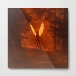 Alien Angel by Raphael Terra Metal Print