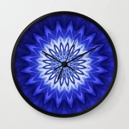 Mandala Recreation Wall Clock