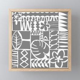 Chachani - Gray Framed Mini Art Print