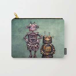 Two Kid's Robots Carry-All Pouch