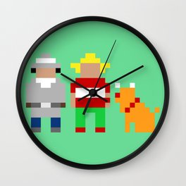 Inspector Gadget, Penny and Brain Wall Clock