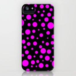 Bubbles Pink iPhone Case